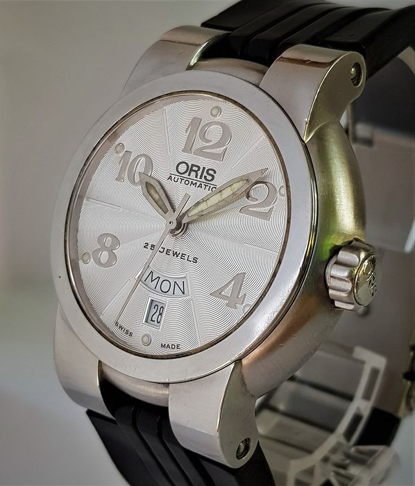 """Oris - TT1  Day Date Automatic   - 7517-41 """" NO RESERVE PRICE """" - Homme - 2000-2010"""