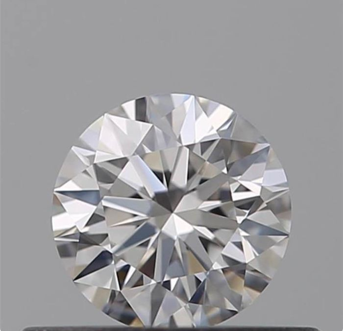 1 pcs Diamant - 0.30 ct - Brillant - D (farblos) - VVS2