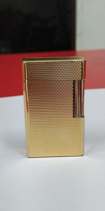 Dupont - GOLD POCKET POCKET MECHERO - Complete collection of 1