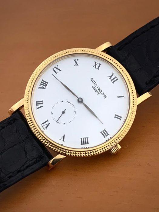 Patek Philippe - Calatrava 18K Gold  - 3919 - Men - 1970-1979