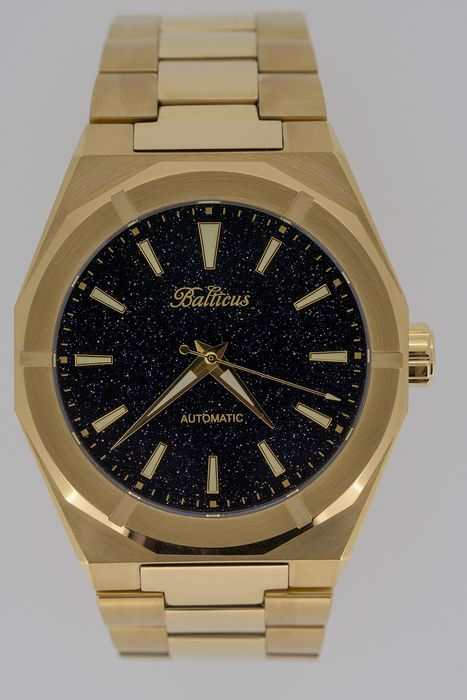 Balticus - Automatic Gold Dust with Aventurine Dial - Gold Dust  - Men - Brand NEW