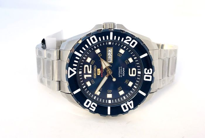 Seiko - Baby Monster (Blue) Automatic Diver Watch  - SRPB37K1 - Men - 2011-present