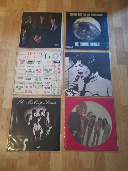 Rolling Stones - 6 LP Albums incl Picture Disk - Multiple titles - 2xLP Album (double album), LP Album, LP's - 1964/1986