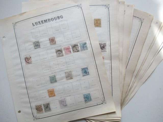 Luxembourg 1946/1859 - Advanced collection of stamps