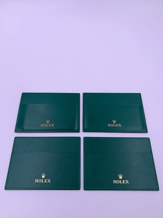 Rolex - Lot of 4 Rolex Warranty Holder - Unisex - 2011-heute