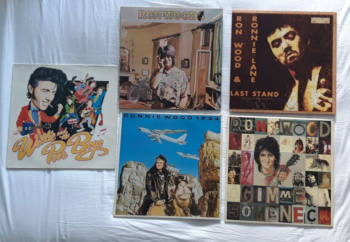 Ronnie Wood & Related - 5 LP Albums - Multiple titles - Deluxe edition, LP Album - 1974/1999
