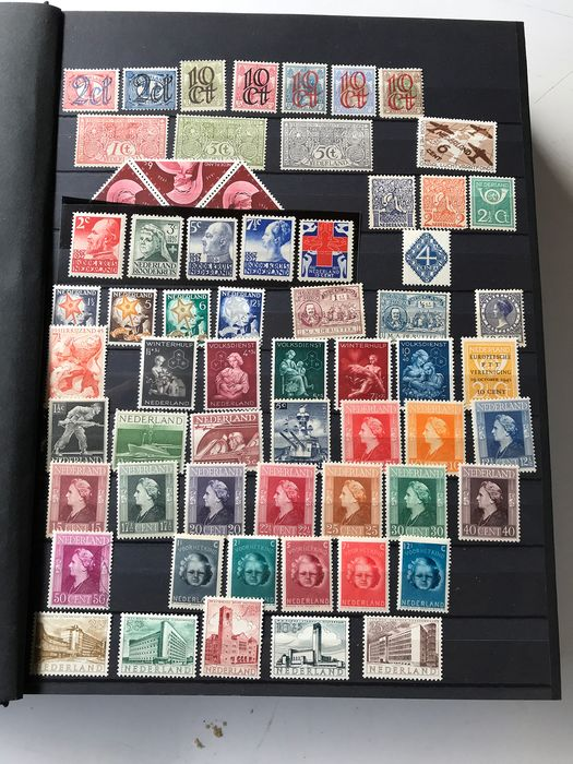 Netherlands 1906/2012 - Stock book with stamps, booklets, combinations, sheetlets