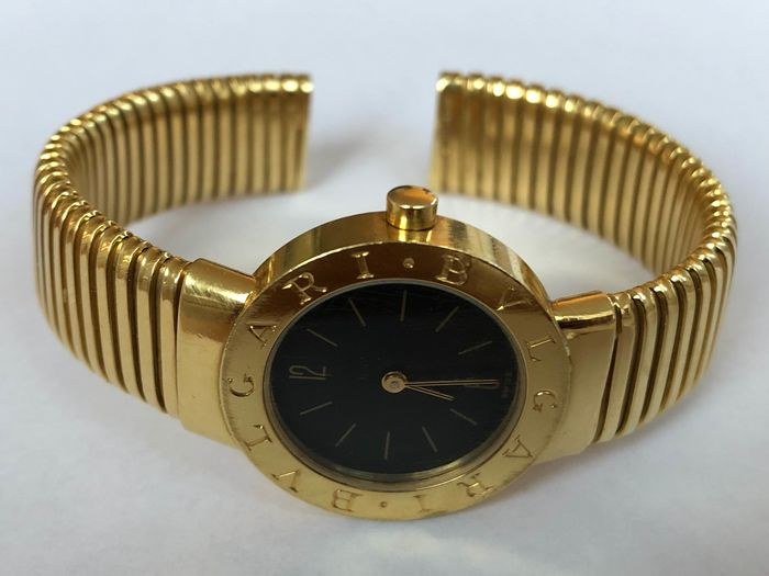 "Bulgari - ""NO RESERVE PRICE"" tubogas - BB 26GL - Damen - 2000-2010"