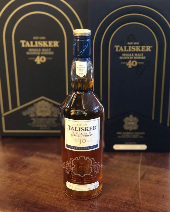 Talisker 1978 40 years old Bodega Nr1 - 700ml
