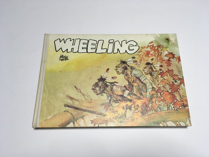"Hugo Pratt - vol. ""Wheeling"" - Hardcover - Erstausgabe - (1972)"