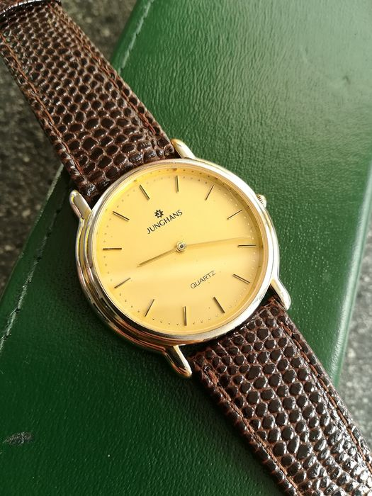 Junghans - Dress watch goud/staal verguld  - 981521 v362 - Heren - 1980-1989