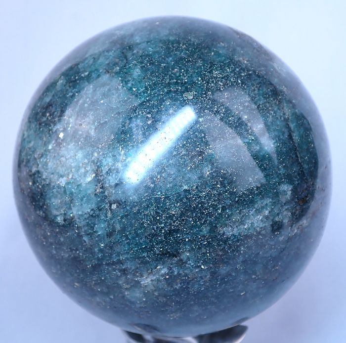 First Quality Sparkling Amazonite Sphere - 120.95×120.95×120.95 mm - 2679 g