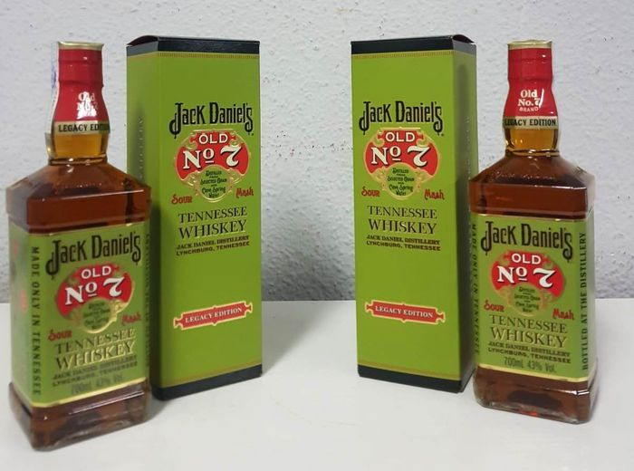 Jack Daniel's Legacy Edition Old Nº 7 - 70cl - 2 bottles