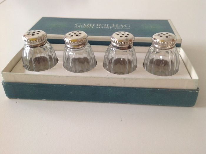Christofle - Christofle - Cardeilhac - Salt and pepper shakers (4) - .950 silver