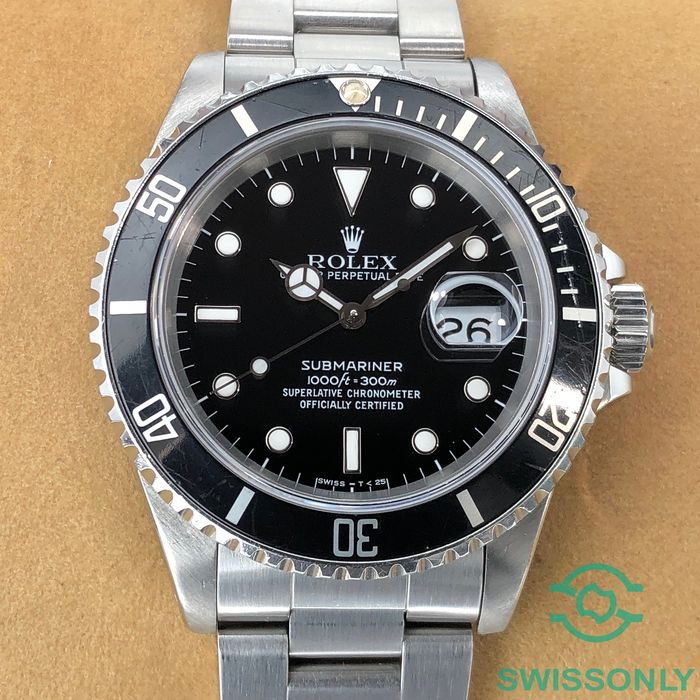 "Rolex - Submariner Date ""Zorro"" Dial - 16610 - Men - 1980-1989"