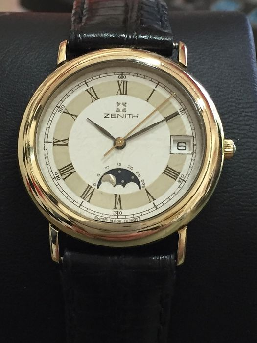 Zenith - Moonphase - 27-0020-208 - Unisex - 1980-1989