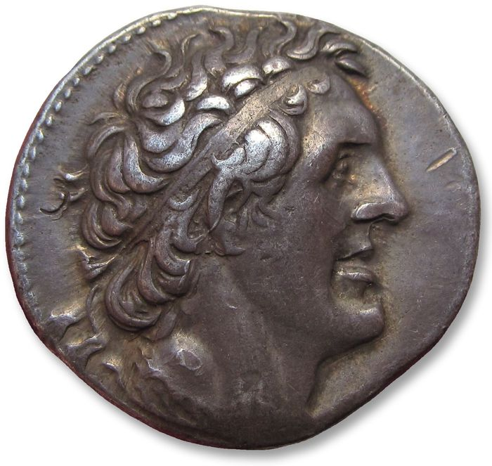 Egypt (ancient) - AR tetradrachm Ptolemy I Soter - sharply struck & beatifully toned - Alexandria mint 294-285 B.C. - Silver