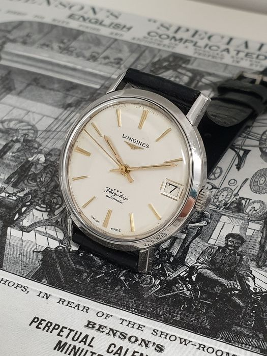 Longines - Flagship Automatic Cal. 345 - Ref. 3118-7  - Heren - 1960-1969