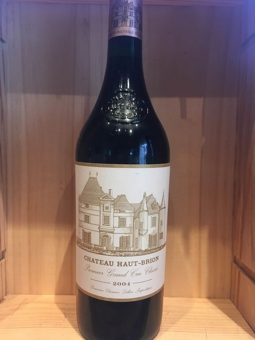 2004 Chateau Haut Brion - Pessac-Léognan 1er Grand Cru Classé - 1 Bottle (0.75L)