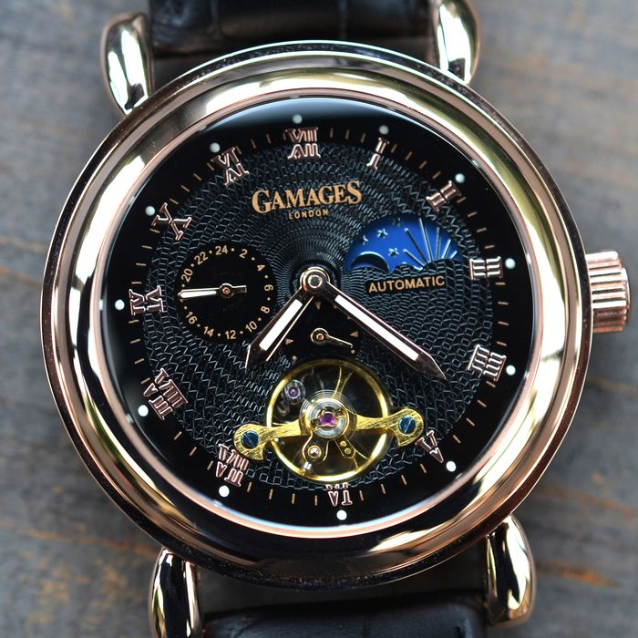 Gamages of London - Moon Phase Automatic  - Hand Assembled  - GA0006  - Herren - 2011-heute