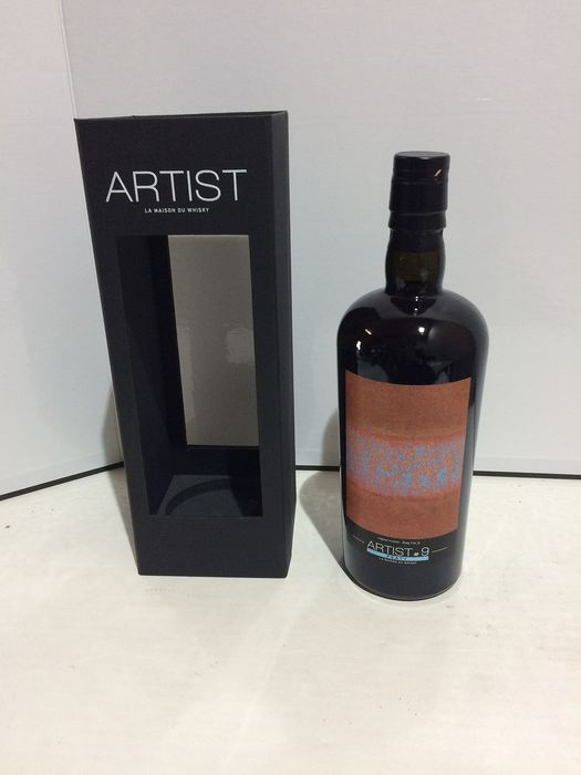 Bruichladdich 1990 over 25 years - Artist #9 single cask - LMDW - b. 2019 - 70cl