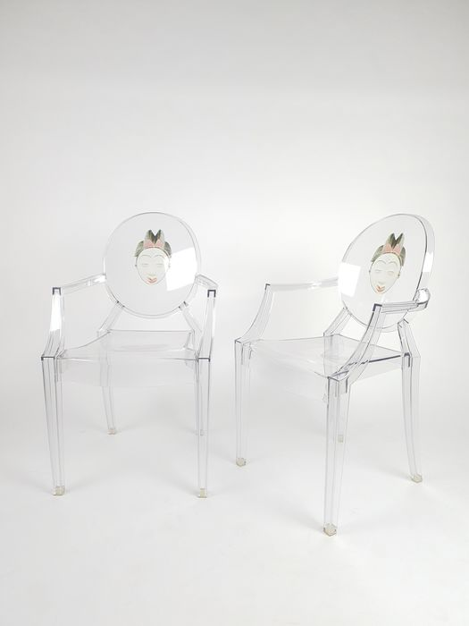 Philippe Starck - Kartell - Seating group (2) - Louis Ghost Chair