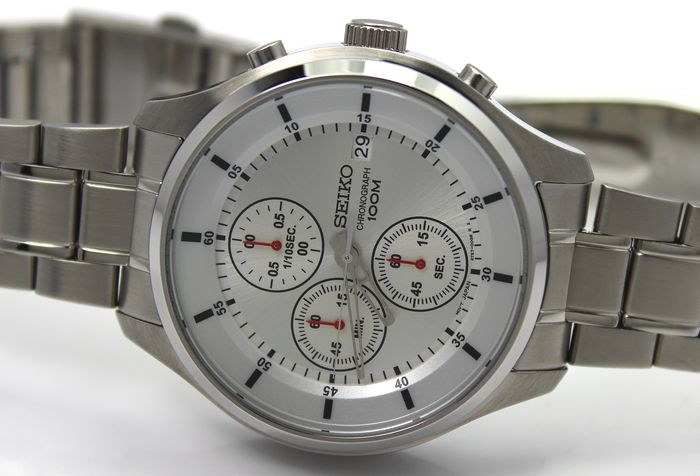 "Seiko - ""NO RESERVE PRICE"" - Chronograph New & Boxed - Homme - 2011-aujourd'hui"