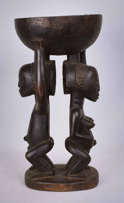 Voorouder Divination Cup - Hout - hemba - DR Congo