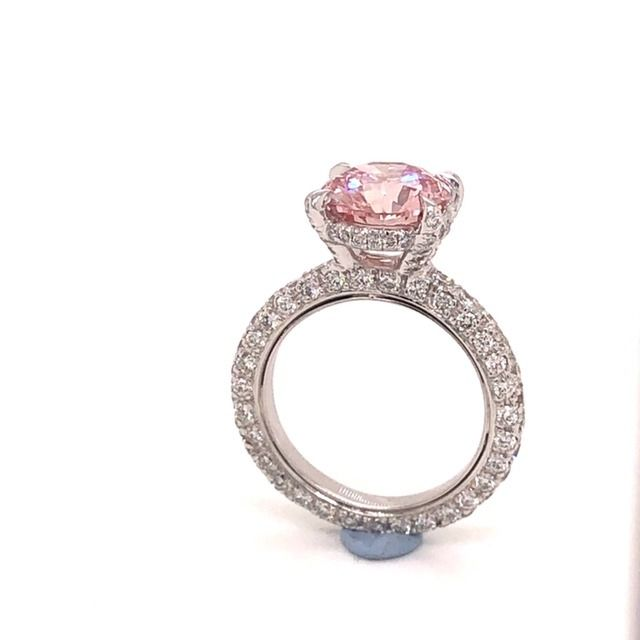 18 karaat Goud - Ring - 3.01 ct Diamant - Diamanten