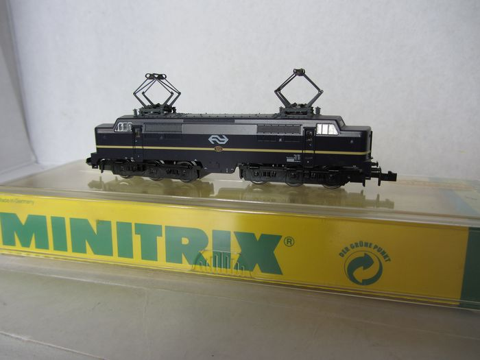 Minitrix N - 12828 - Electric locomotive - 1200 series - NS
