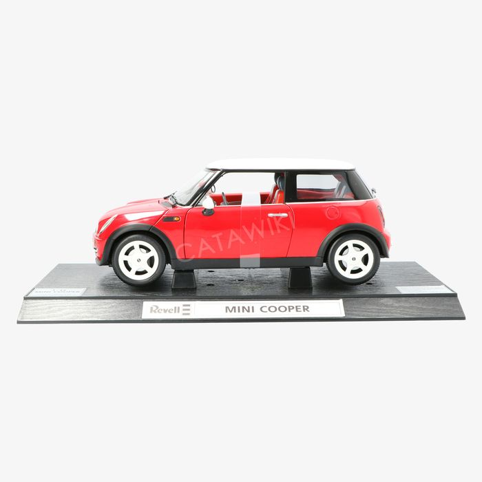 Revell - 1:12 - Mini Cooper - Red, Model car with many details