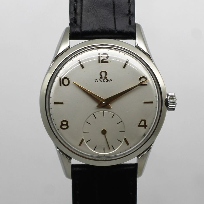"Omega - Cal. 266 (30T2) - ""NO RESERVE PRICE"" - 2800-1 P - Heren - Ano 1952"
