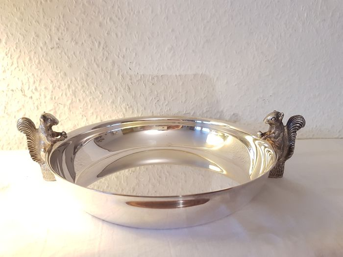 Dish, empty pocket - Silver plated