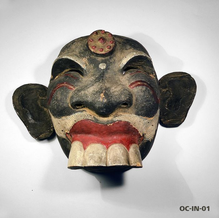 Dance mask - Wood - sidakarya - Bali, Indonesia