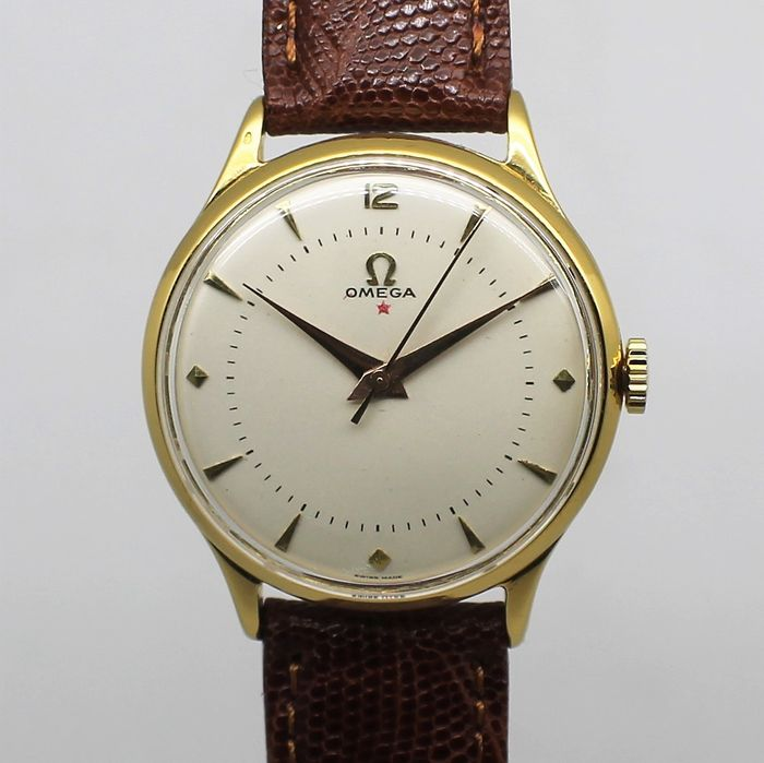 """Omega - Red Star - Cal. 30T2 - """"NO RESERVE PRICE"""" - 2324/3 - Homem - Ano - 1944"""