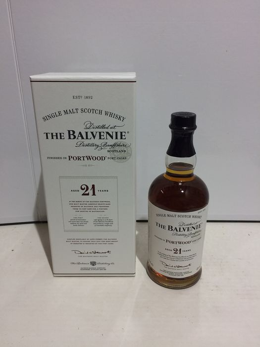 The Balvenie 21 years old Portwood - Original bottling - 70cl