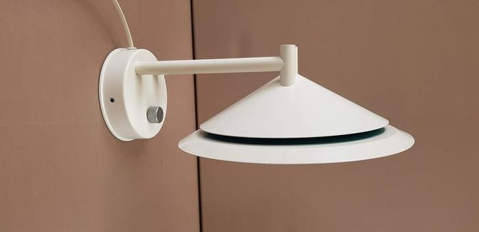 Dijkstra wall lamp - white - turquoise
