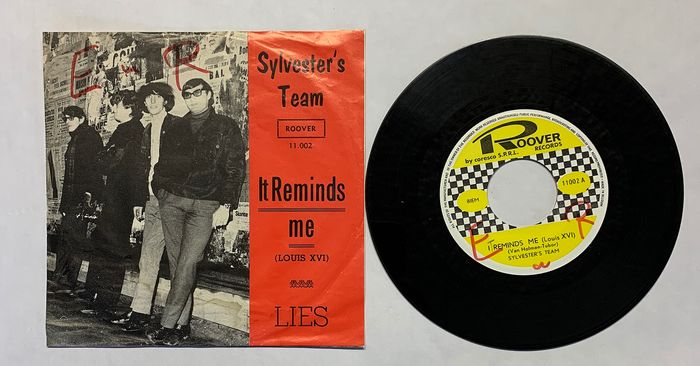 SYLVESTER'S TEAM - X Wallace Collection  - It Reminds me ( Louis XVI ) - Lies  - 45 rpm Single - 1966/1966