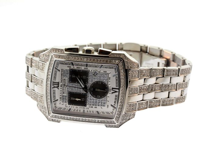 Wittnauer - By Longine with 670 Swarovski Crystal  - 10B012 Swiss Movement - Hombre - 2011 - actualidad