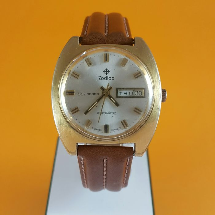 "Zodiac - SST 36000 Automatic - 'NO RESERVE PRICE""  - Ref. 863.713 - Men - 1970-1979"