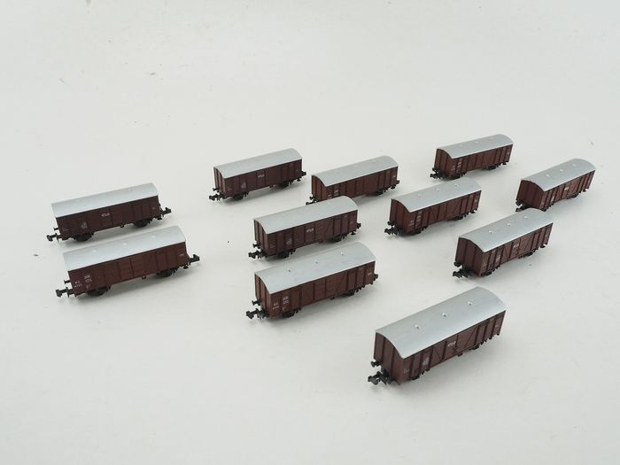 Roco N - Freight carriage - 11 freight cars - NS