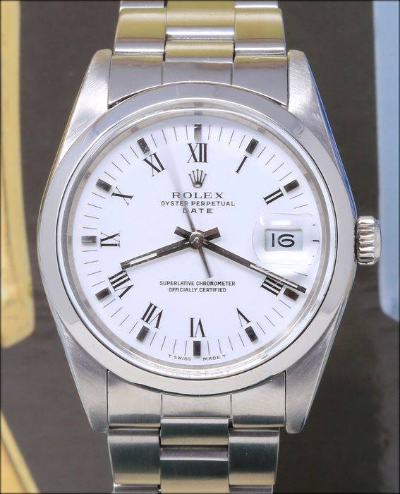 Rolex - Oyster Perpetual Date - 1500 - Homme - 1980-1989
