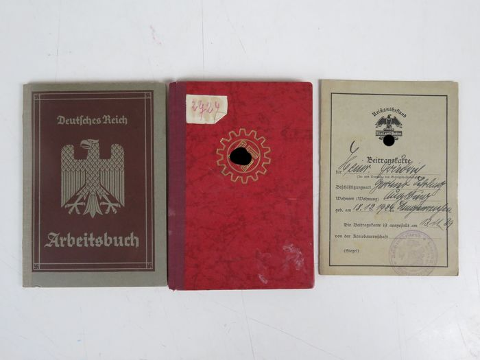 Germany - Convolute of 3 documents from the period 1936-1939 - Document - 1936