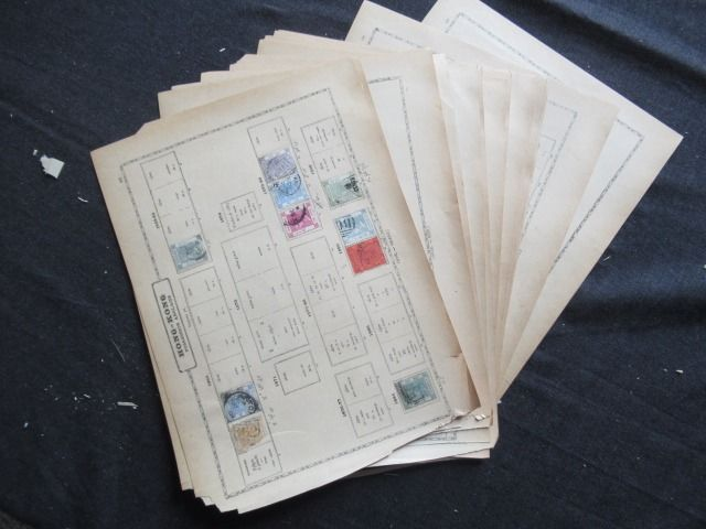Azië - including China and Hong Kong, collection of stamps
