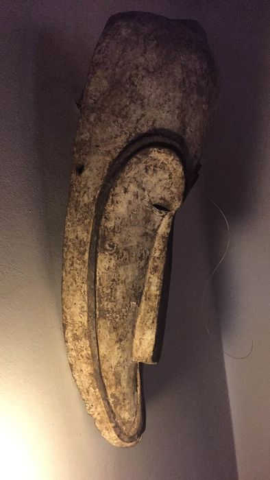 Mask (1) - Wood - Fang - Africa