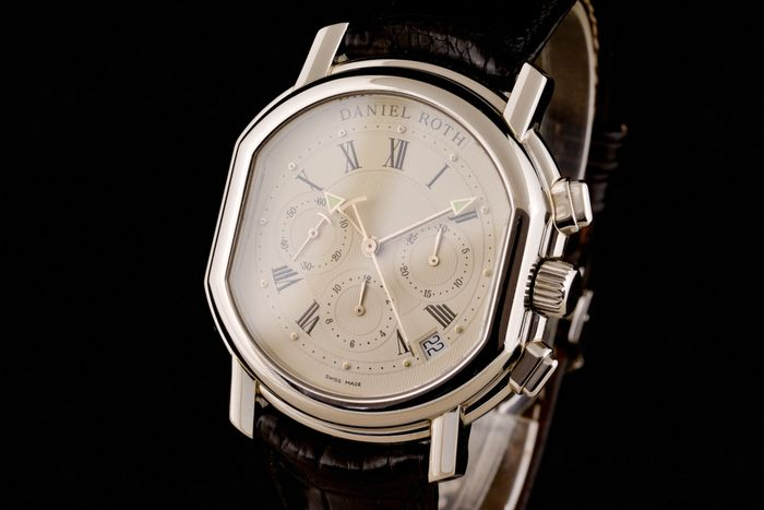 Daniel Roth - Beautiful Chronograph ,box papers - S247STCL - Uomo - 2000-2010
