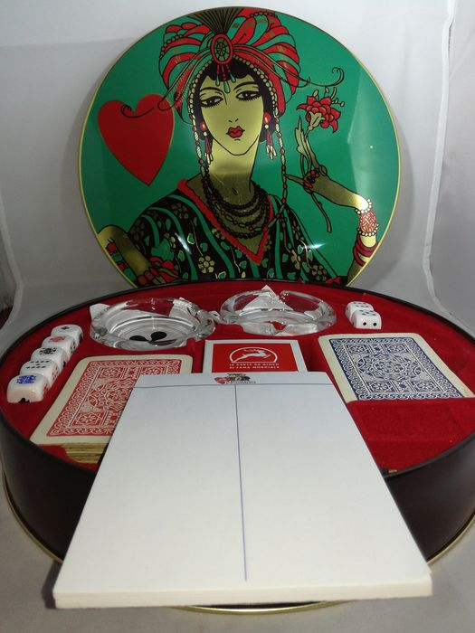 Modiano - Poker set - Glass, Paper, Resin/Polyester, Tin
