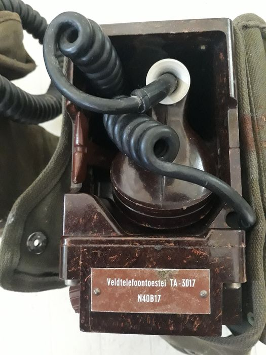 Netherlands - Army/Infantry - Telephone - 1957