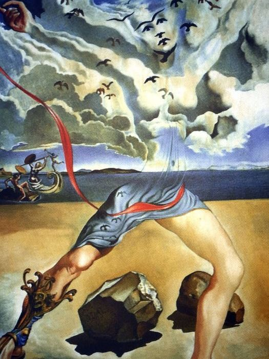 Salvador Dalí (After) - Mural painting for Helena
