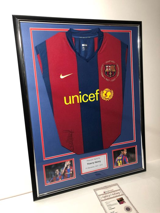 FC Barcelona - Europese voetbal competitie - Thierry Henry - Jersey(s)
